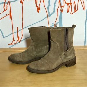 Nine West nubuck suede ankle boots